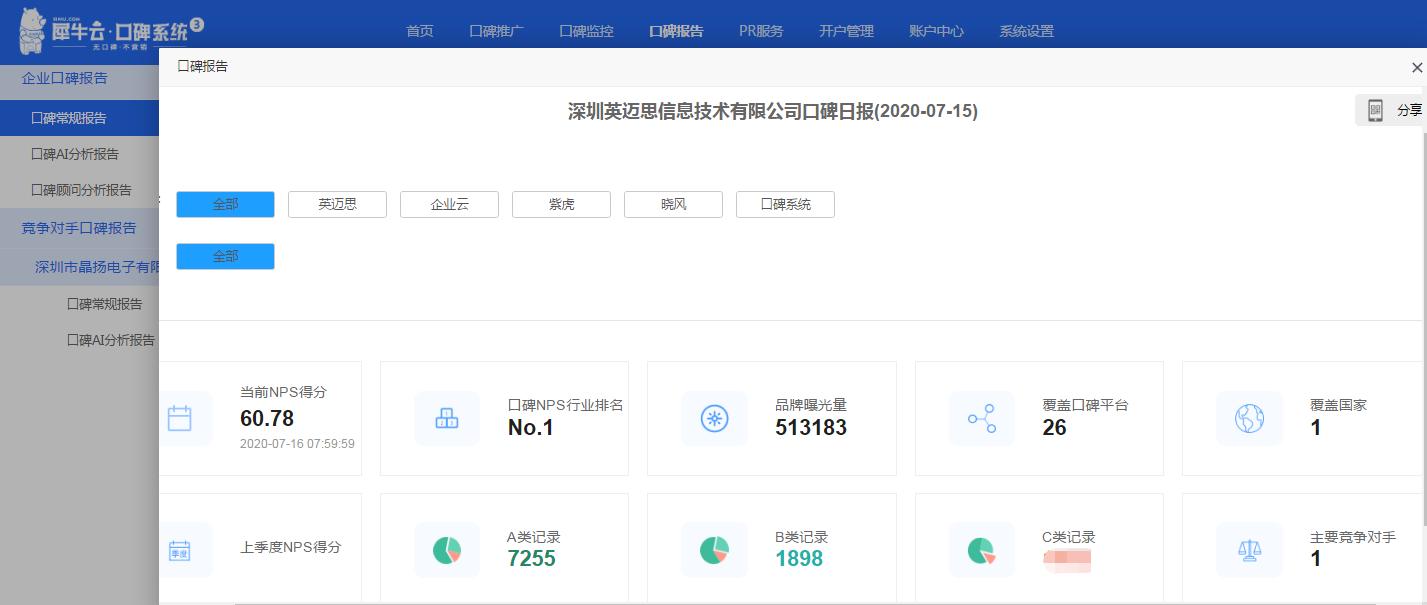 【升级公告】犀牛云口碑系统K3.0.1版本已发布上线啦!